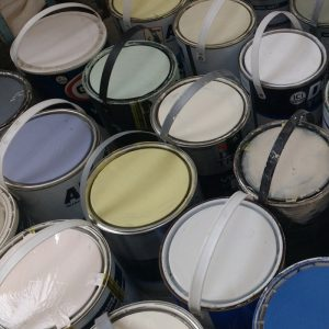 25 years of UK paint reuse yields enough paint to cover the Burj Khalifa ten times over