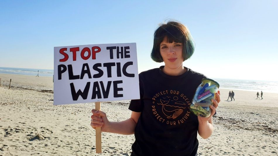 Ella Daish, the founder of #endperiodplastic campaign